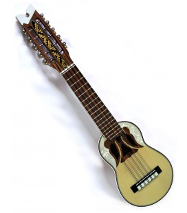 """Professional charango """"butterfly soundhole"""" + Free canvas case"""